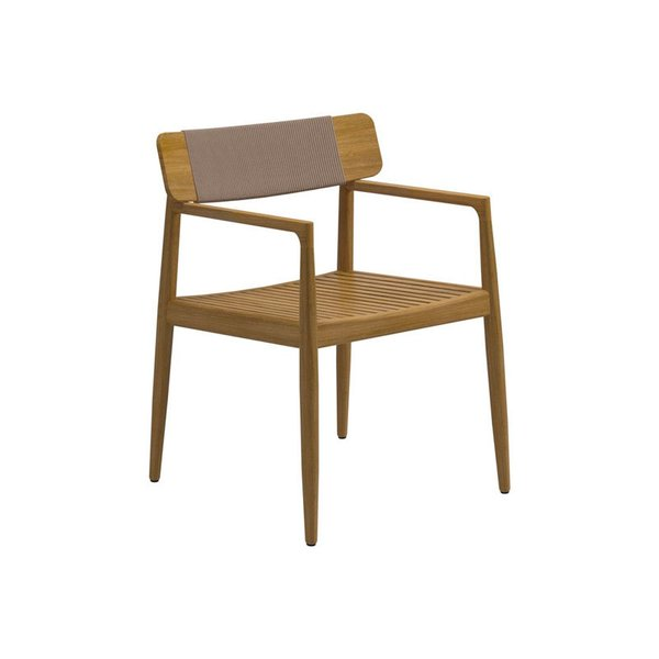 Gloster Archi Dining Chair with Arms