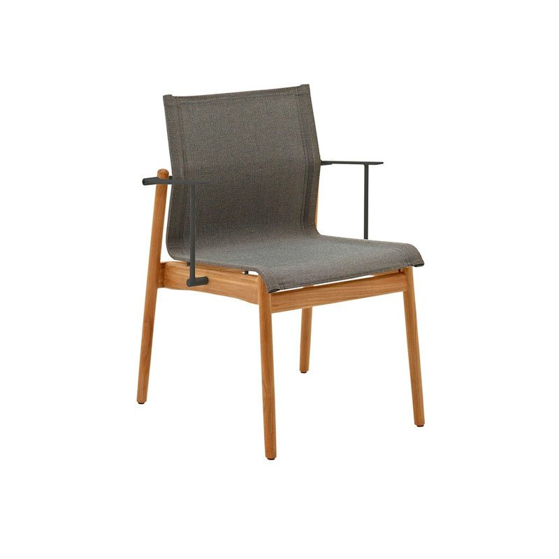 Gloster Sway Stacking Chair With Arms