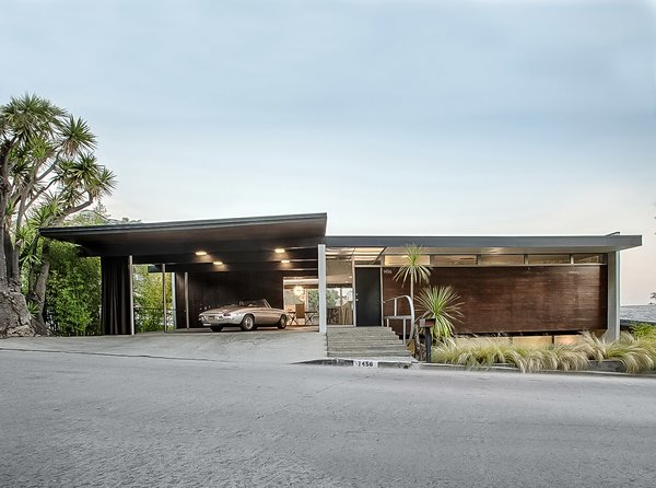 Exterior, Wood Siding Material, House Building Type, and Mid-Century Building Type  Best Photos from The Lew House
