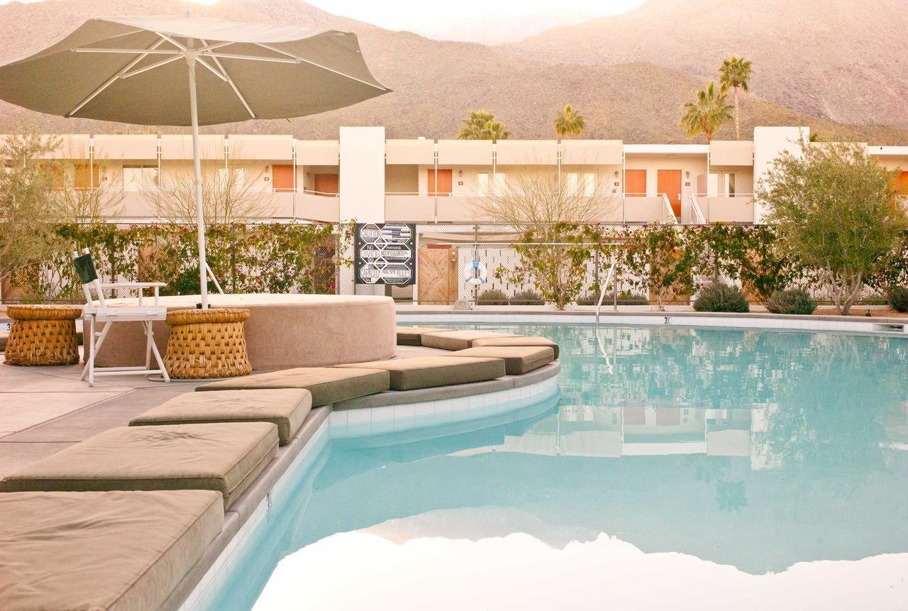 Outdoor, Swimming Pools, Tubs, Shower, Back Yard, Desert, Large Patio, Porch, Deck, and Large Pools, Tubs, Shower  Ace Hotel & Swim Club