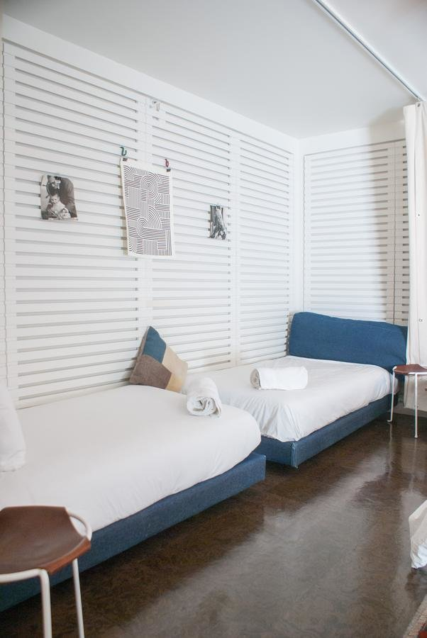 Bedroom, Bed, and Night Stands  Ace Hotel & Swim Club