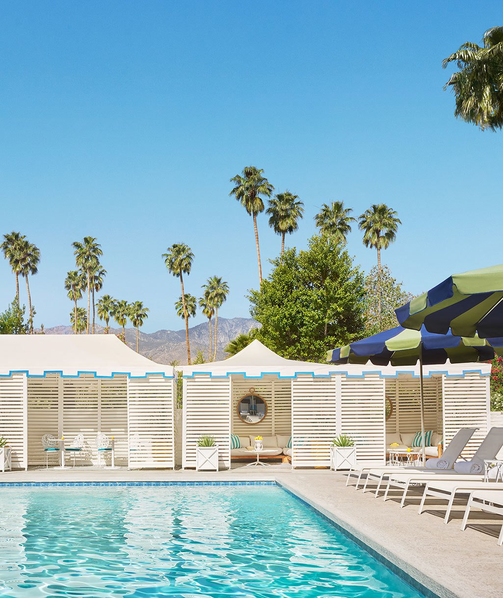 Outdoor, Large Pools, Tubs, Shower, and Swimming Pools, Tubs, Shower  Parker Palm Springs