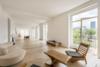Modern home with Living Room, Chair, Sofa, Table Lighting, Light Hardwood Floor, and Coffee Tables. Photo  of Quai d'Orléans
