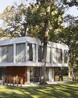 Once Covered in Mold, a Midcentury Gem Outside Chicago Is Reborn - Photo 14 of 15 -