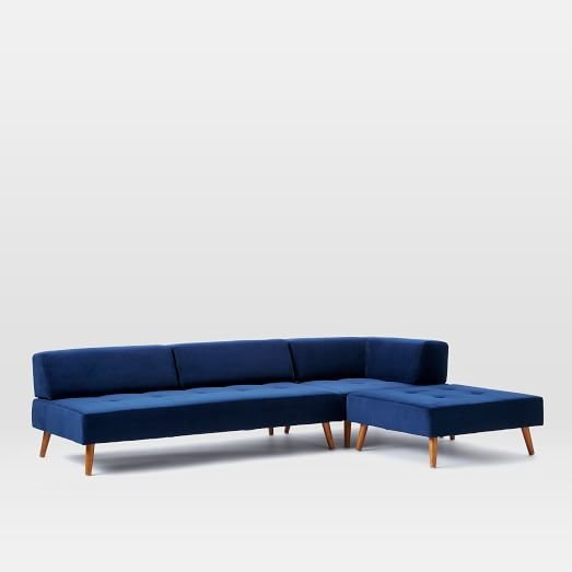West Elm Retro Tillary 6-Piece Sectional