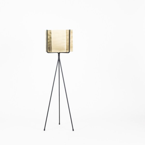Ferm Living Hexagon Pot and Plant Stand