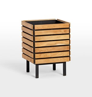 Rejuvenation Jasper Square Planter with Stand