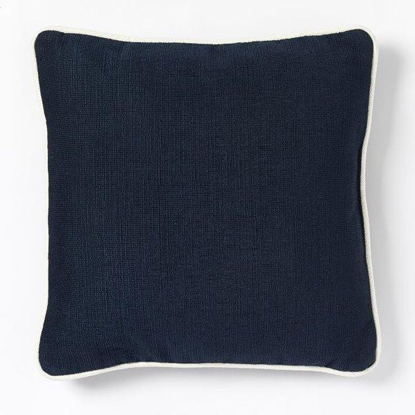 West Elm Outdoor Contrast Trim Pillow