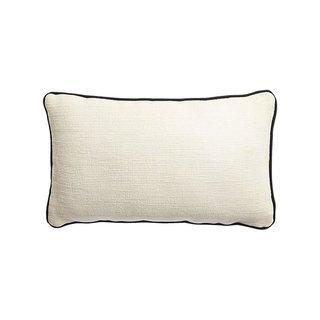 CB2 Jute Outdoor Pillow
