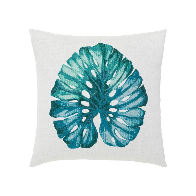 Elaine Smith Leaf Lagoon Indoor Outdoor Accent Pillow