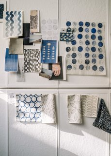 From Sketchbook to Loom, We Reveal How a Brooklyn Designer Created Her New Ocean-Inspired Textile - Photo 4 of 26 -