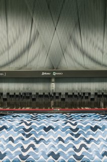 From Sketchbook to Loom, We Reveal How a Brooklyn Designer Created Her New Ocean-Inspired Textile - Photo 13 of 26 -