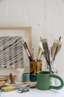 From Sketchbook to Loom, We Reveal How a Brooklyn Designer Created Her New Ocean-Inspired Textile - Photo 16 of 26 -