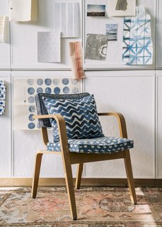 From Sketchbook to Loom, We Reveal How a Brooklyn Designer Created Her New Ocean-Inspired Textile - Photo 15 of 26 -