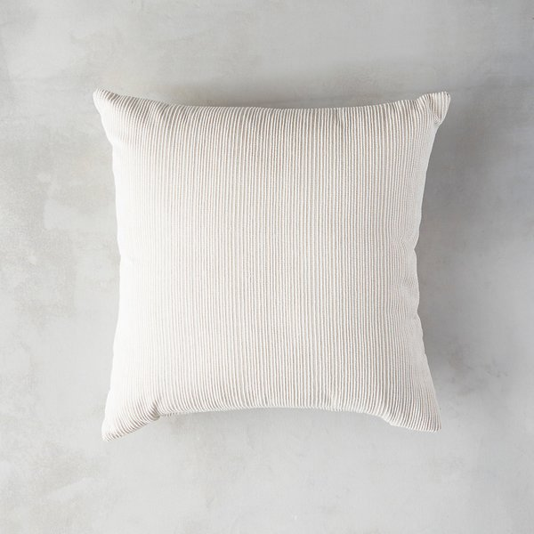 Terrain Heathered Ivory Outdoor Pillow