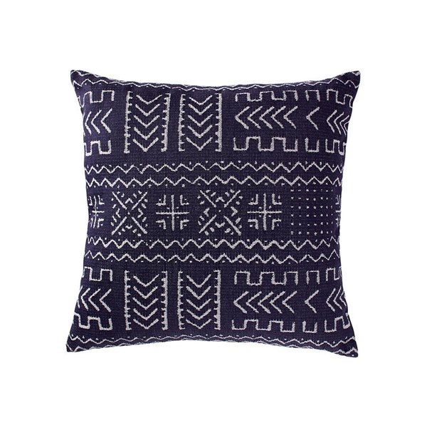 Rivet Mudcloth-Inspired Pillow