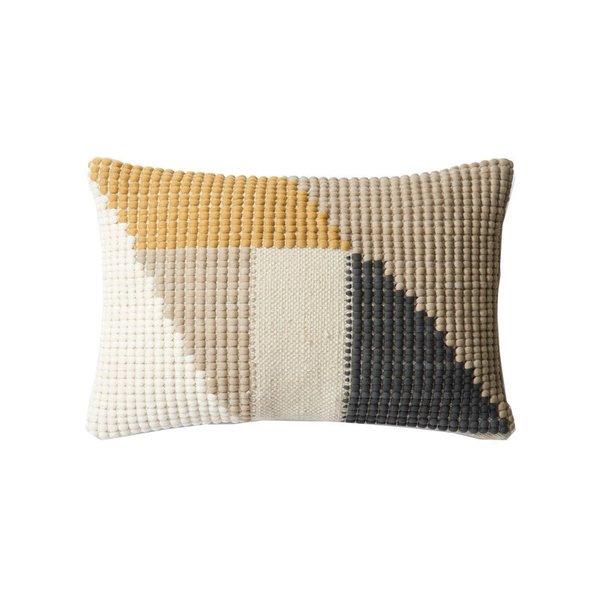 Lulu & Georgia Randa Indoor/Outdoor Pillow, Taupe
