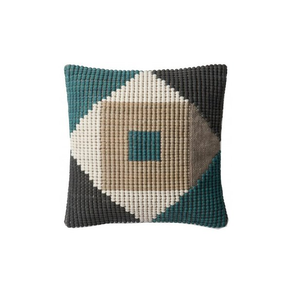 Lulu & Georgia Quilla Indoor/Outdoor Pillow, Blue