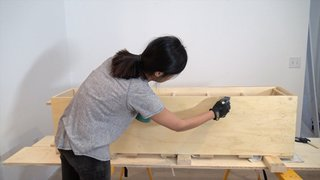 Dwell Made Presents: DIY Shoe Shelf With a Macramé Curtain - Photo 18 of 25 -
