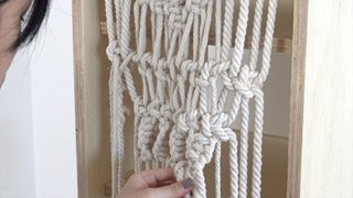 Dwell Made Presents: DIY Shoe Shelf With a Macramé Curtain - Photo 20 of 25 -