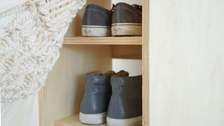Dwell Made Presents: DIY Shoe Shelf With a Macramé Curtain - Photo 22 of 25 -
