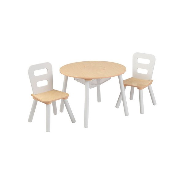 KidKraft Round Storage Table and Chair Set