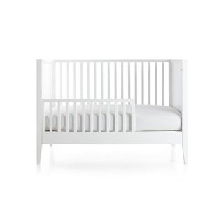 Crate & Barrel Ever Simple White Toddler Rail