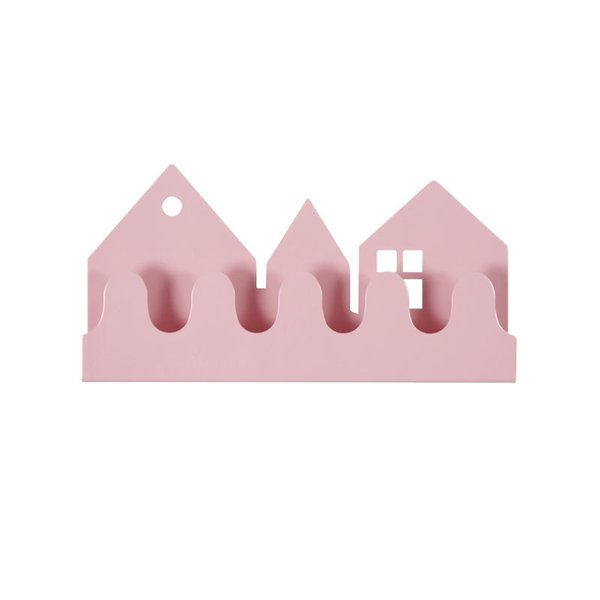 Roommate Pink Village Coat Rack