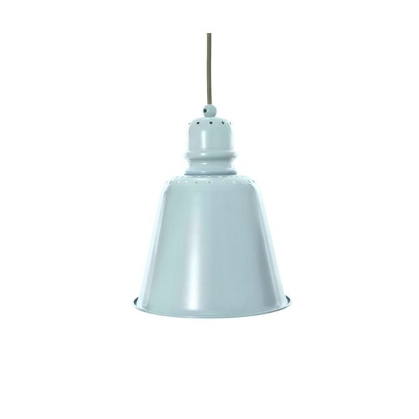 Sebra Pastel Blue Large Metal Pendant Lamp
