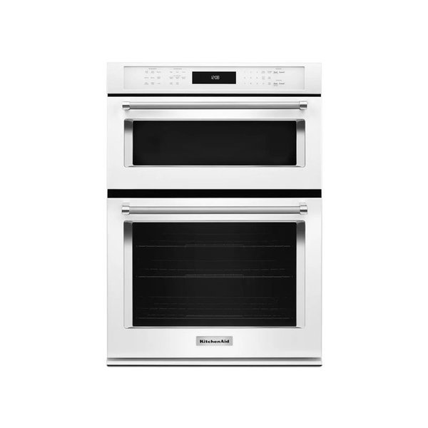 """KitchenAid 30"""" Combination Wall Oven with Even-Heat True Convection"""