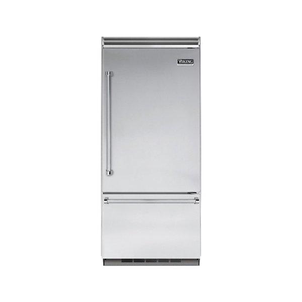 "Viking Professional 5 Series 36"" Built-In Bottom-Freezer Refrigerator"