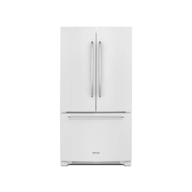 "KitchenAid 36"" Wide 20 Cu. Ft. French Door Refrigerator with Interior Water Dispenser"