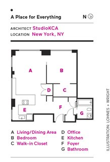 This Little Apartment in New York Unleashes the Power of Pegs - Photo 11 of 11 -