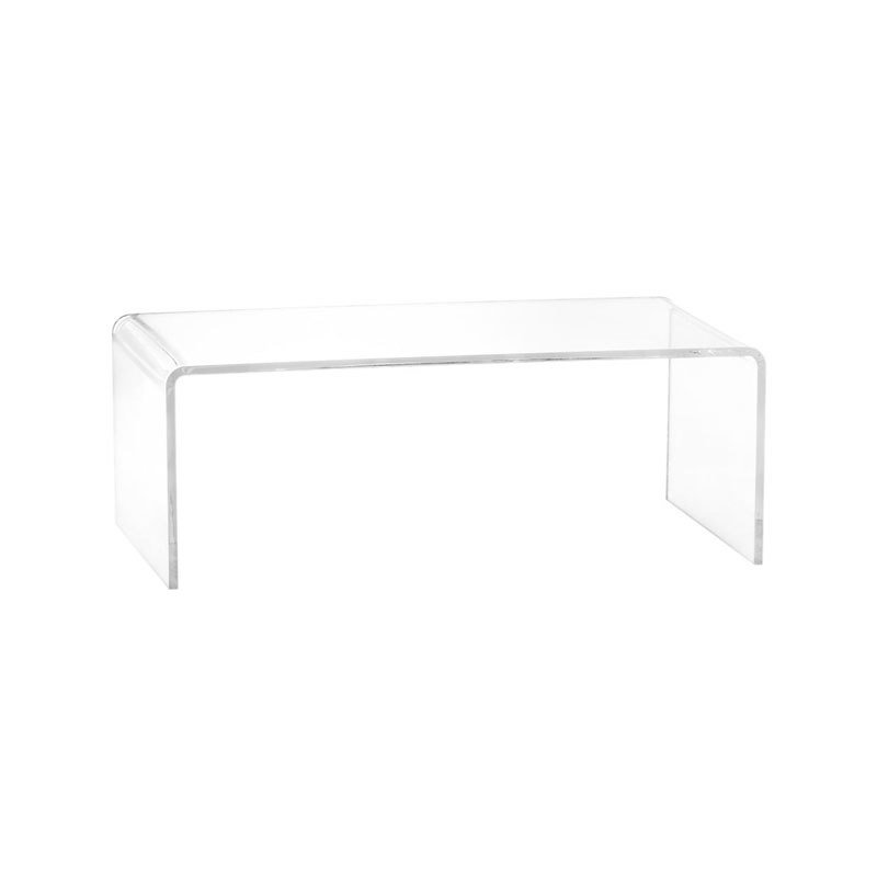CB Peekaboo Acrylic Coffee Table By CB Dwell - Cb2 peekaboo coffee table