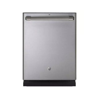 "GE Café Series 24"" Stainless Steel Built-In Dishwasher"