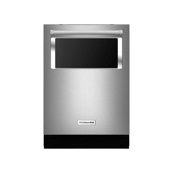 KitchenAid Top Control Built-In Dishwasher with Window and Lighted Interior
