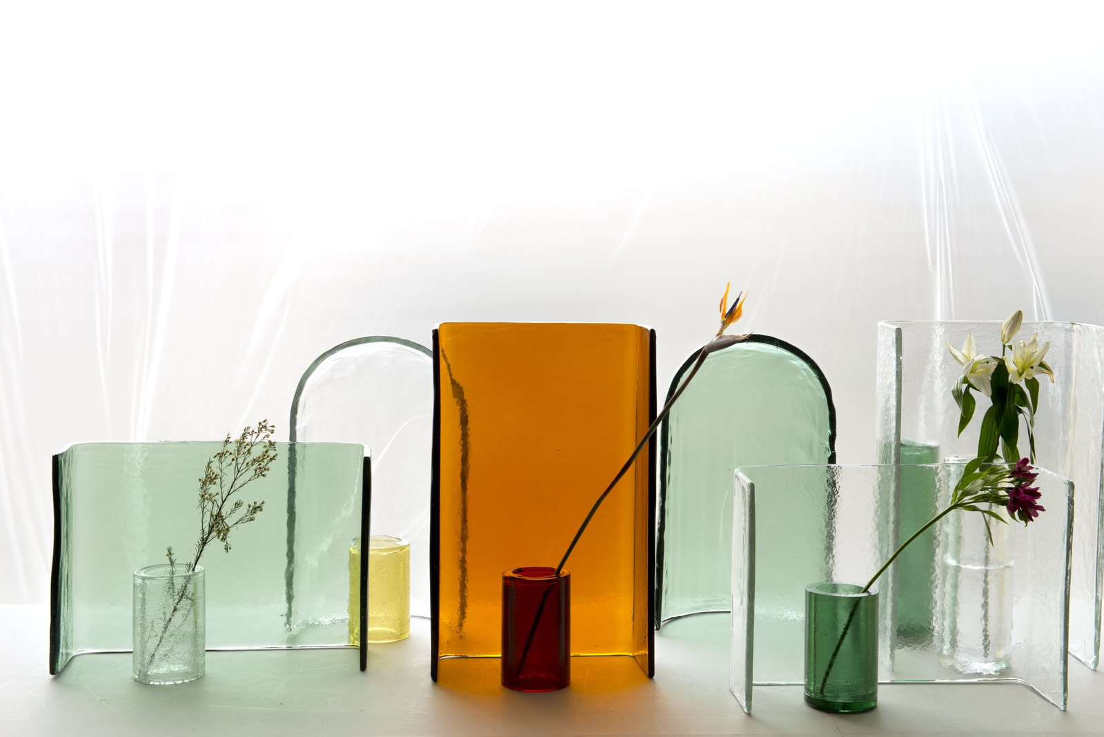 The Alcova collection by Ronan and Erwan Bouroullec for Wonderglass