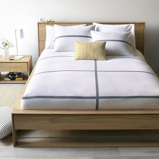 Tatami Gray Duvet Cover Queen