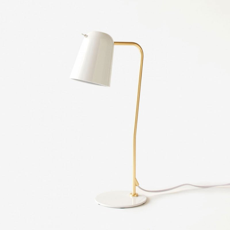 Canal White Table Lamp