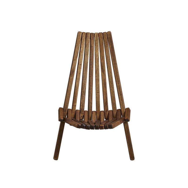 Cb2 Maya Wood Outdoor Chair
