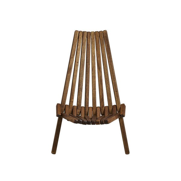 CB2 Maya Wood Outdoor Chair