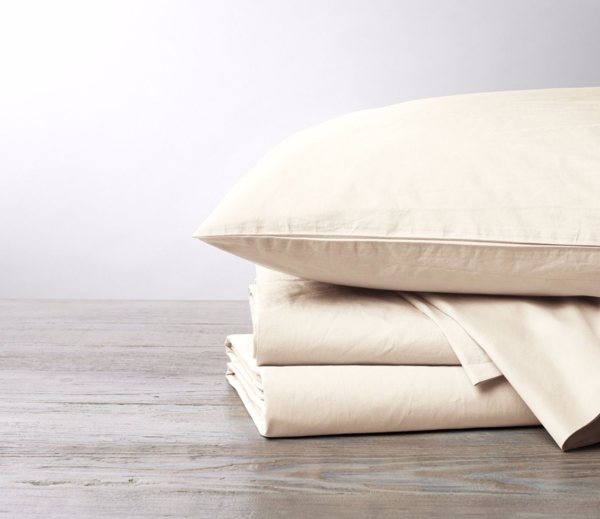 Coyuchi 220 Percale Sheet Set