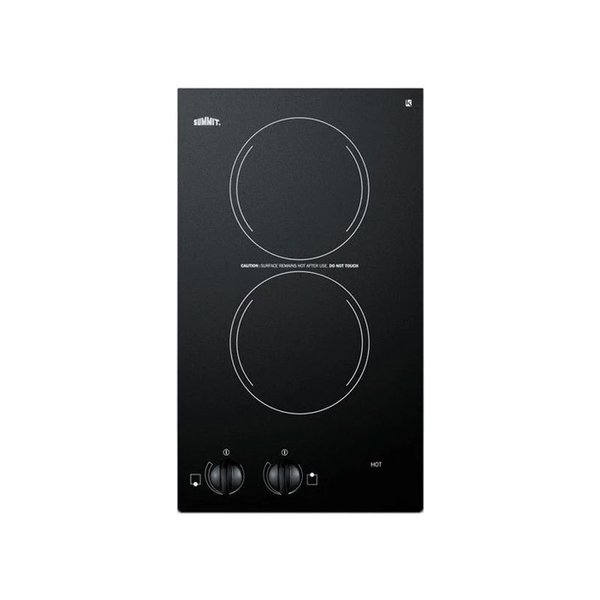 "Summit 12"" Smoothtop Electric Cooktop"