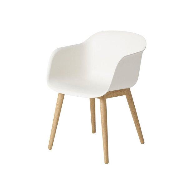 Muuto Fiber Armchair - Wood Base