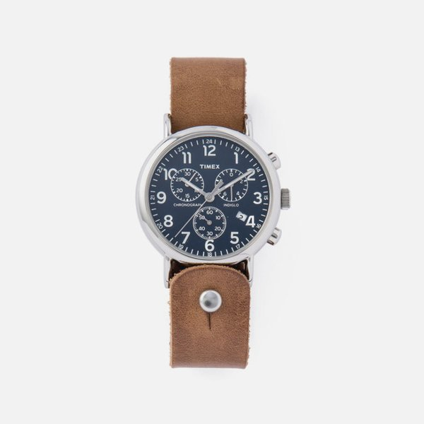 Timex Horween Leather Chronograph