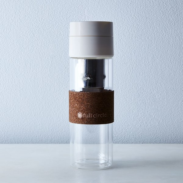Full Circle Home Brumi Pour Over & Cold Brew To-Go Bottle