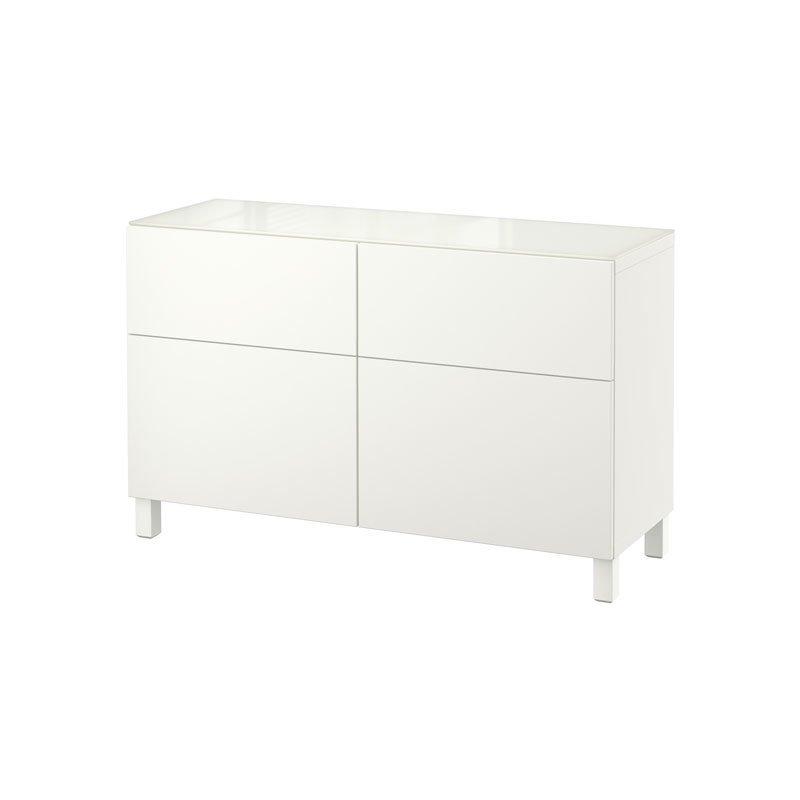 IKEA BESTÅ Storage Combination With Doors/Drawers