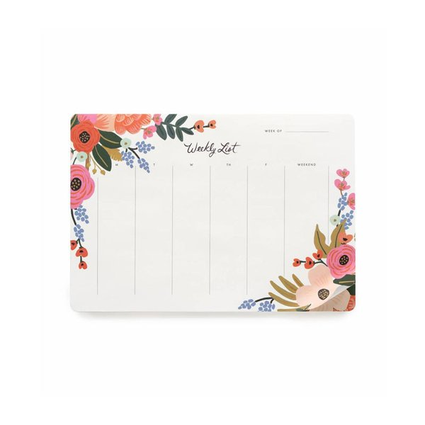 Rifle Paper Co. Lively Floral Weekly Planner