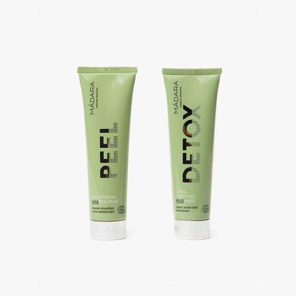 MÁDARA Organic Skincare Duo Set - Masks