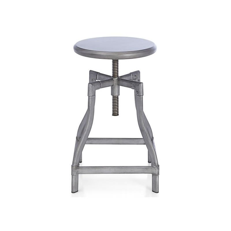 Pleasing Crate Barrel Turner Gunmetal Bar Stool By Crate And Barrel Ncnpc Chair Design For Home Ncnpcorg